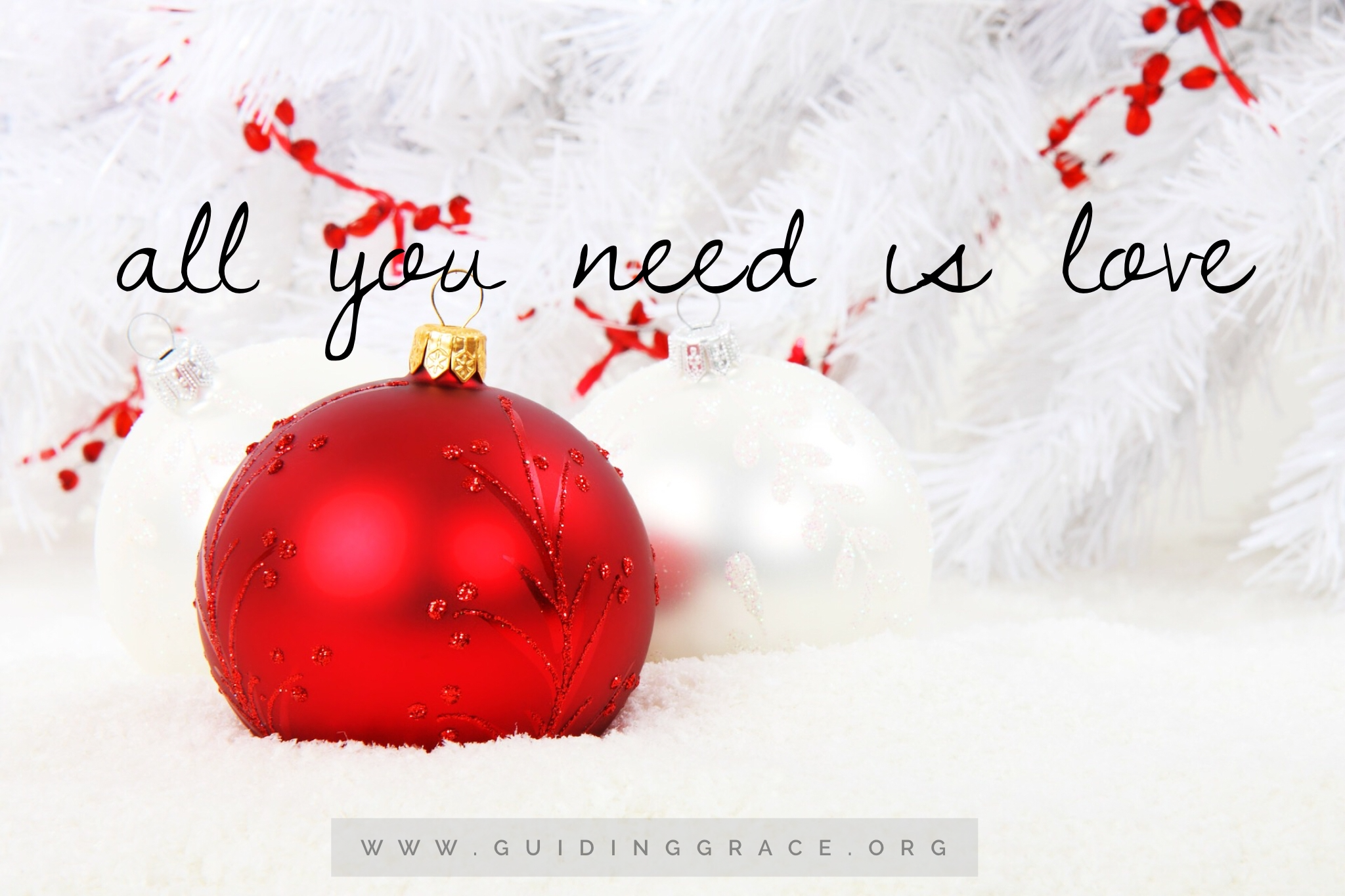 Very All You Need Is Love – Guiding GRACE WO01